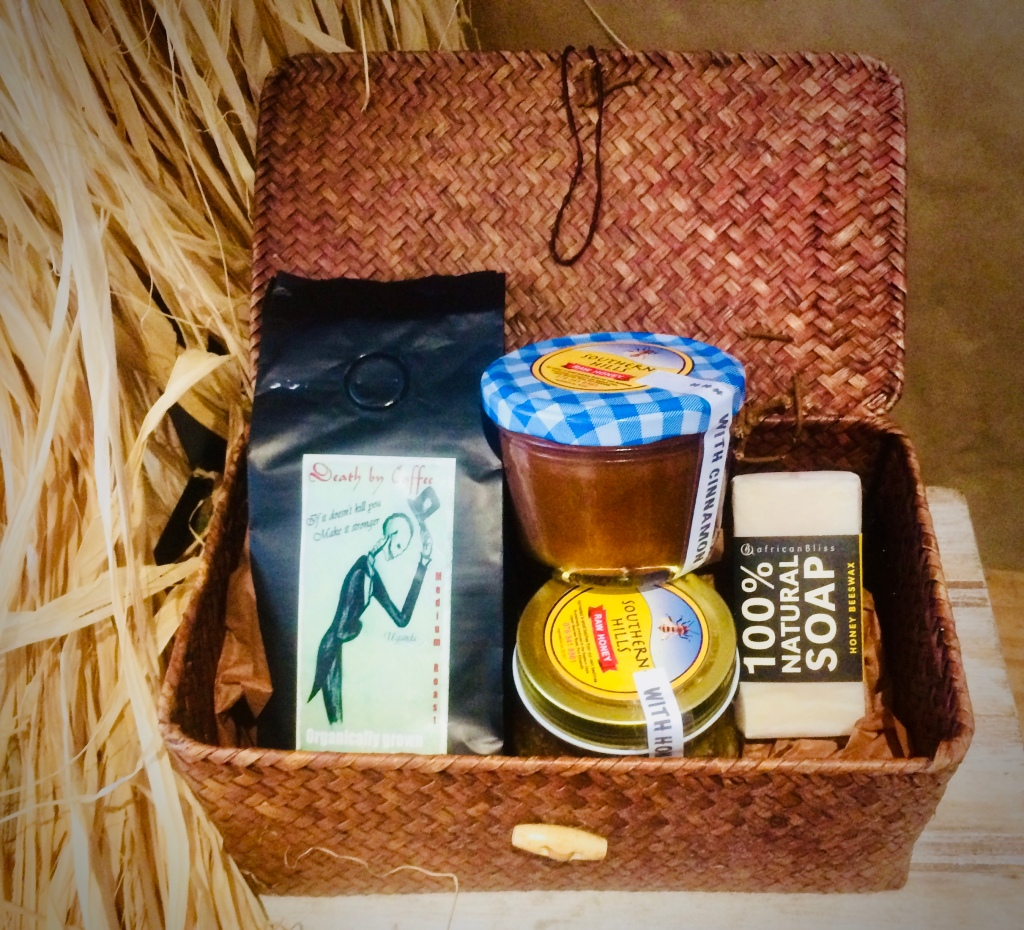 Hamper of artisanal products